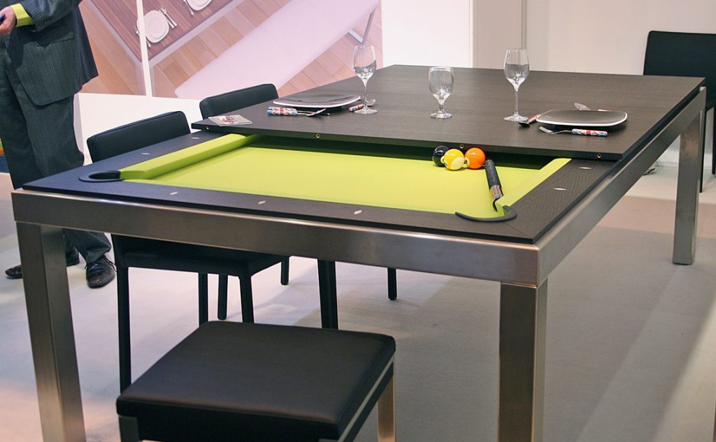 Dining table that turns into pool table myboothang - Acheter billard table ...
